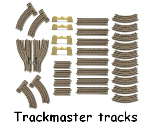 Trackmaster Track for Motorized Railway System