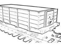 Troublesome truck coloring pages 2