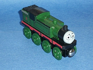 Thomas Wooden Railway - Wilbert is Engine