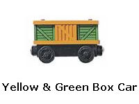 Yellow & Green Box Car recall