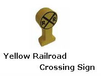 Yellow Railroad Crossing Sign recall