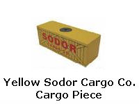 Yellow Sodor Cargo Co. Cargo Piece