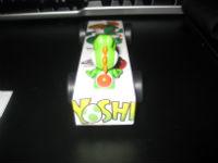 Back of Yoshi racer