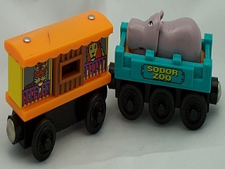 Thomas Wooden Railway – Zoo cars